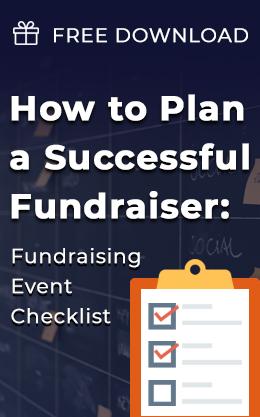 Fundraising checklist sidebar