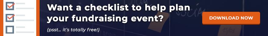 Fundraising event checklist