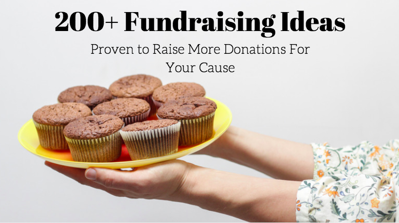 200 fundraising ideas proven to raise more donations for your cause