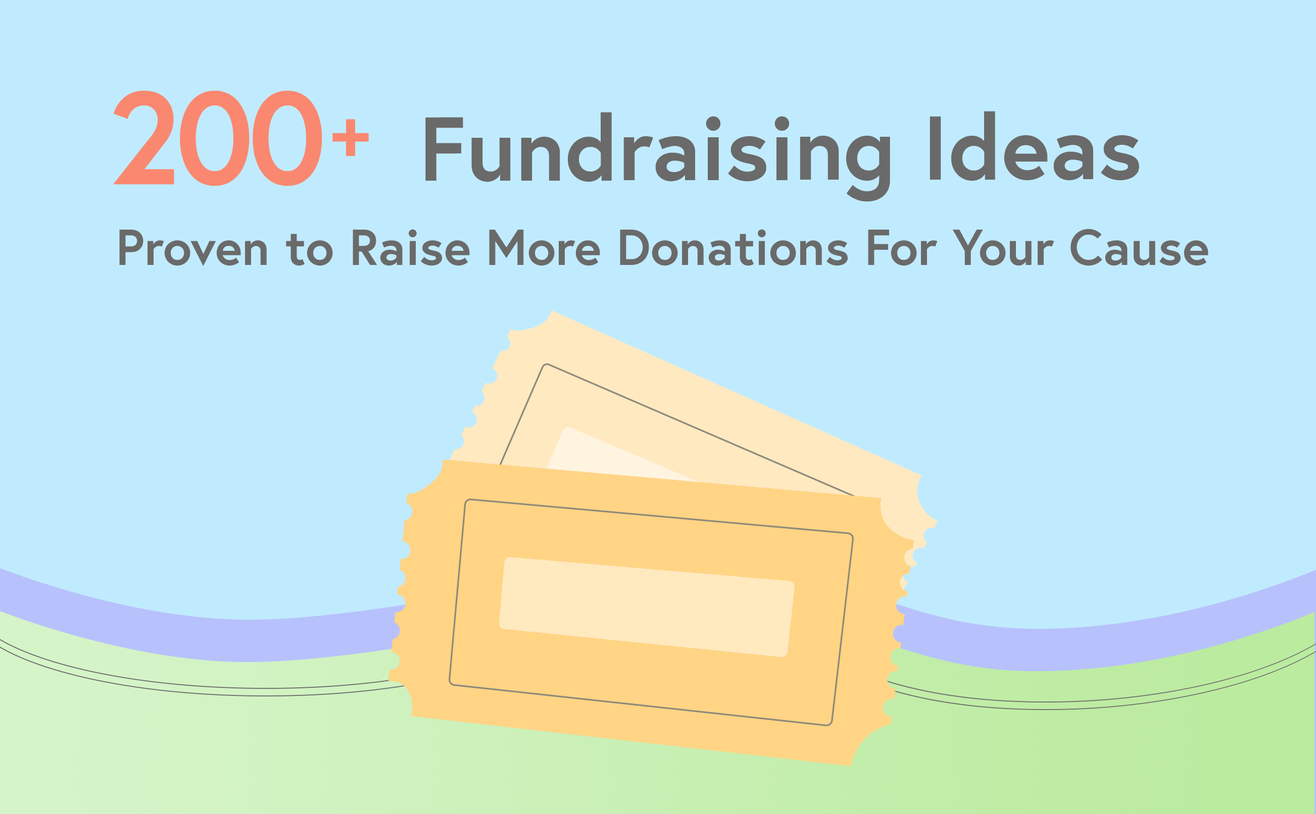 200 Amazing Fundraising Ideas Any Organization Can Try Today Wild Apricot Blog