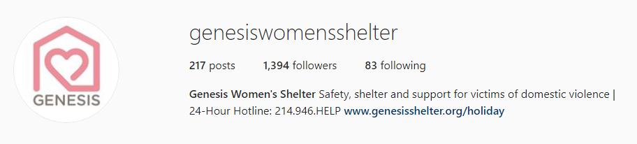 Genesis Womens Shelter Millennial Donors