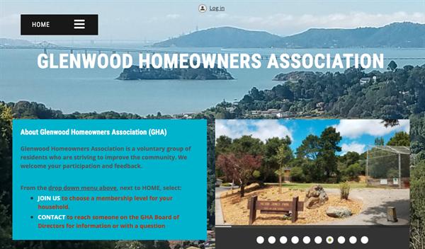 Glenwood Homeowners Association website