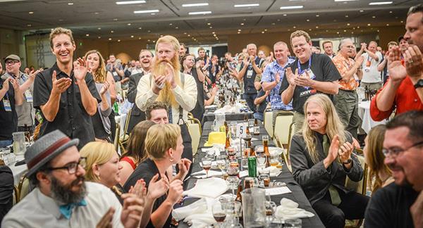 grand banquet at aha conference