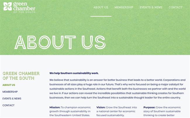 green chamber 2 best nonprofit website