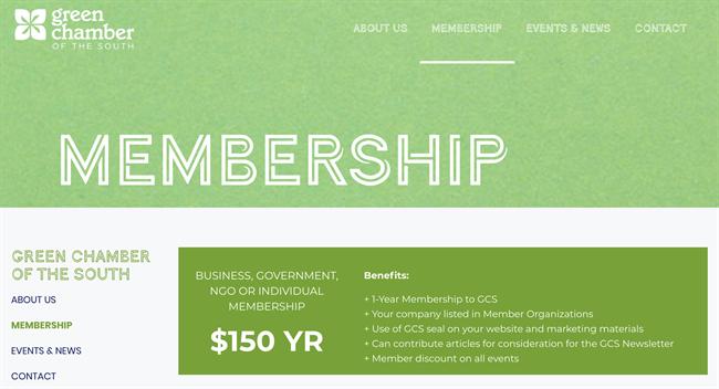 green chamber 3 best nonprofit website