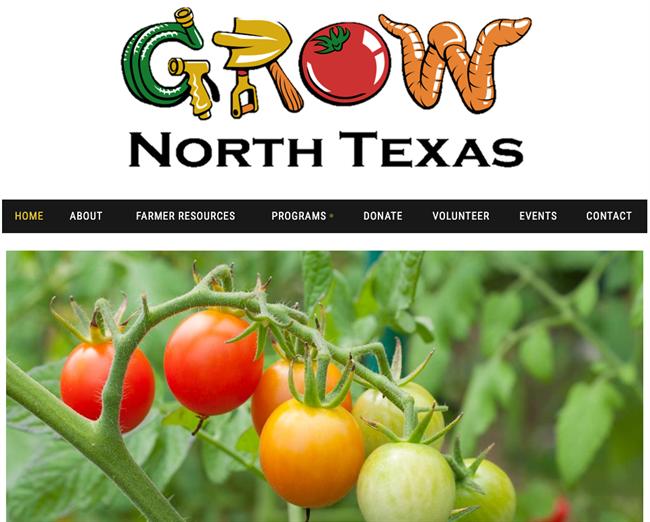 grow north texas best nonprofit website