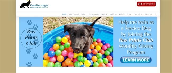 Guardian Angels Medical Service Dogs best nonprofit website