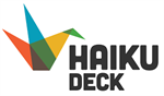Haiku Deck logo photo sharing nonprofit tools