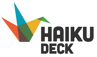 Haiku Deck logo photo sharing nonprofit tools
