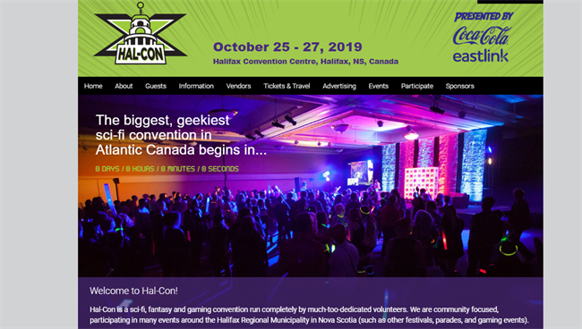 Hal-Con best nonprofit website