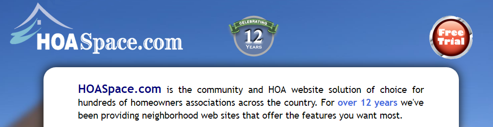 HOASpace Homeowner Association Software