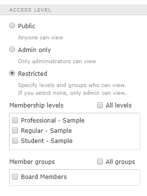 How to Create a Members Only Website Step 9