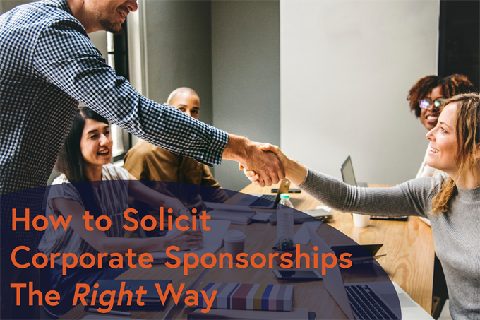 How to solicit corporate sponsorships