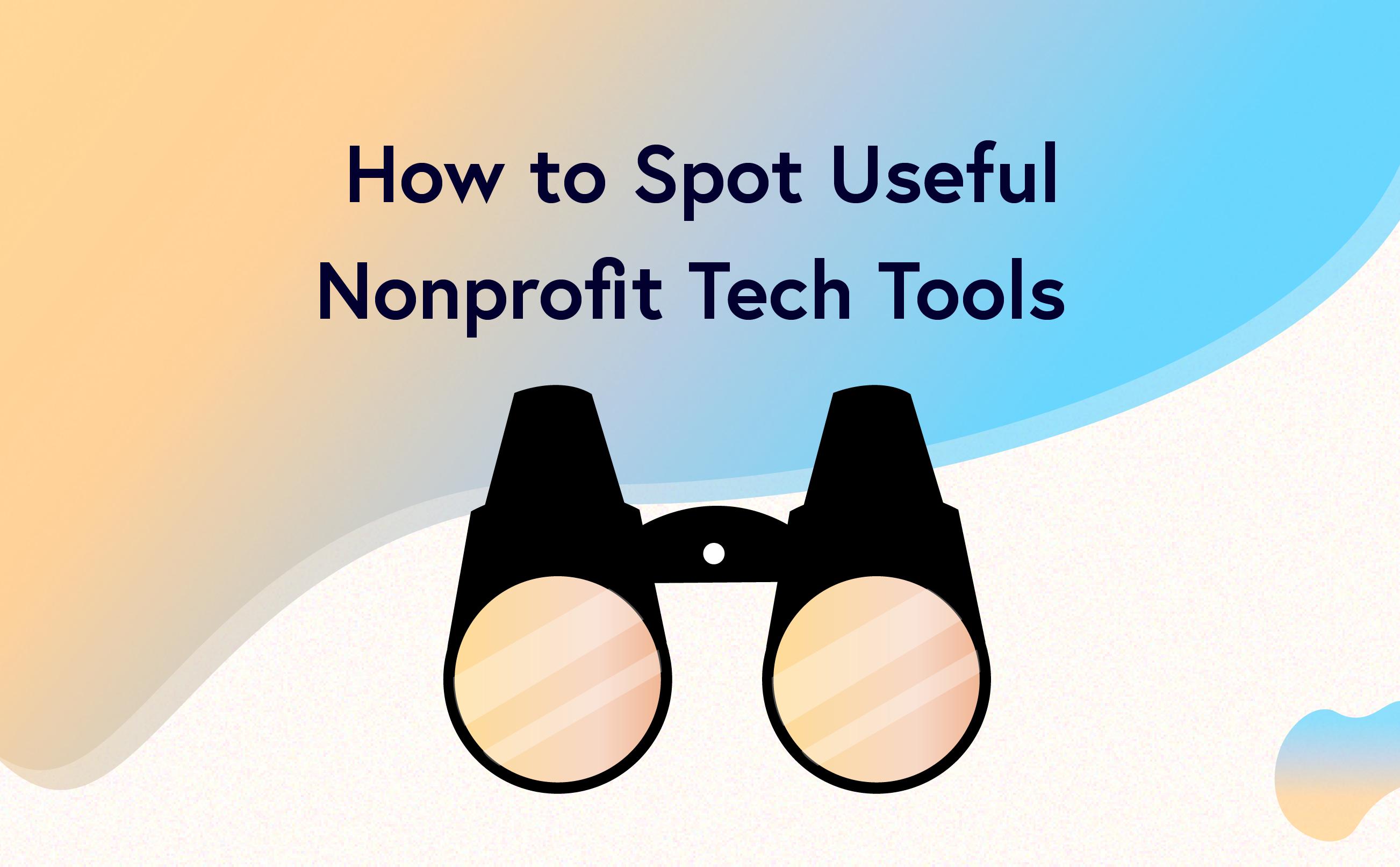 useful nonprofit tech tools