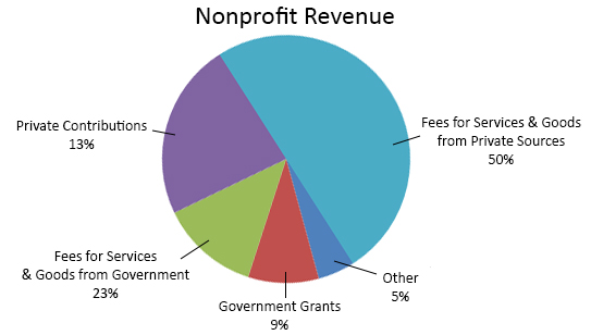 how to start a nonprofit revenue 1