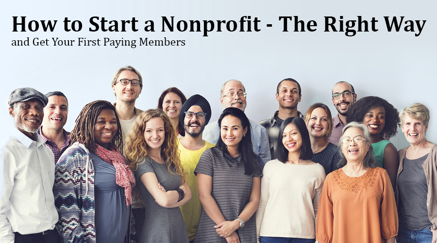 How to start a nonprofit the right way