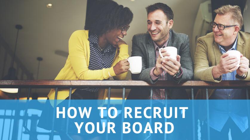 how to start an association board