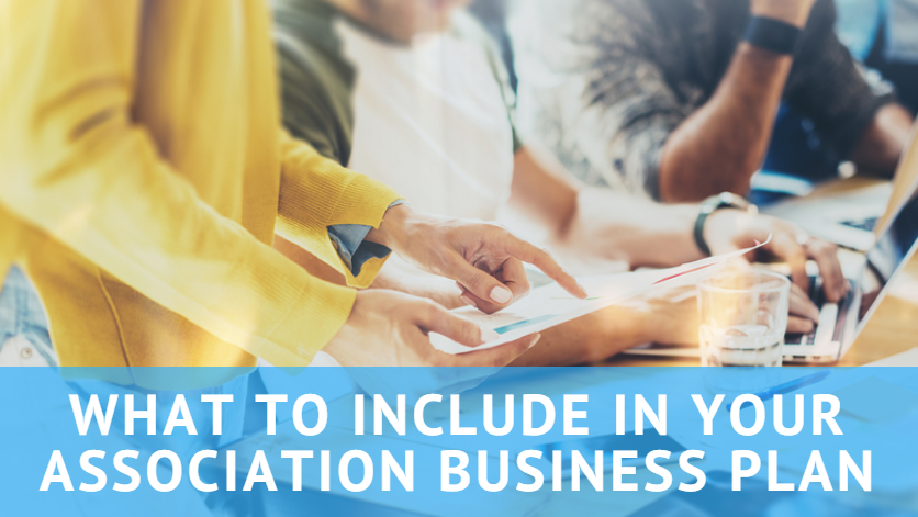 how to start an association business plan