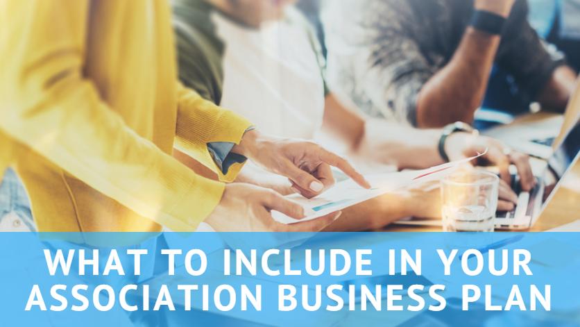 how to start an association business plan