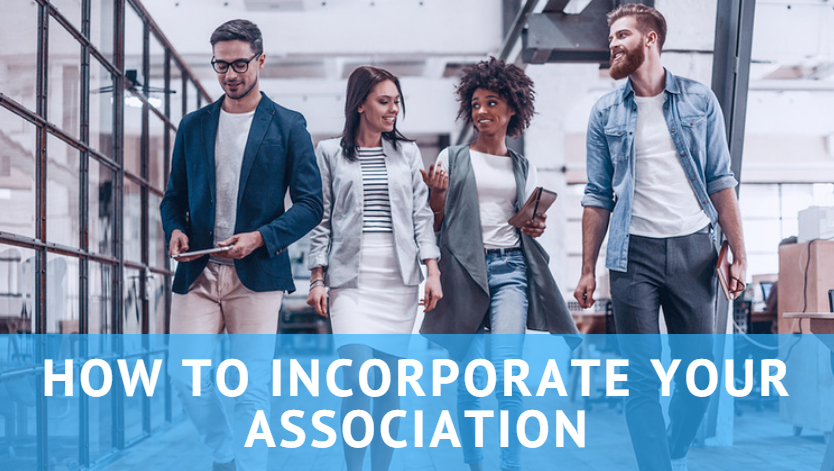 how to start an association incorporate