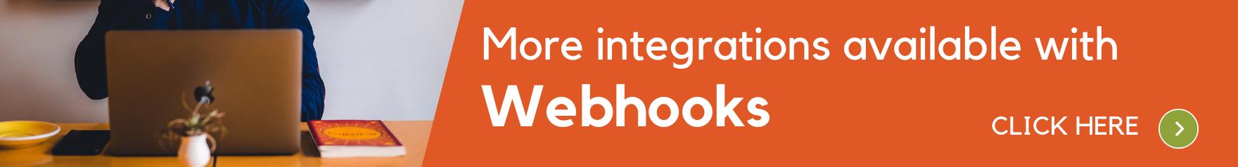 Webhooks banner