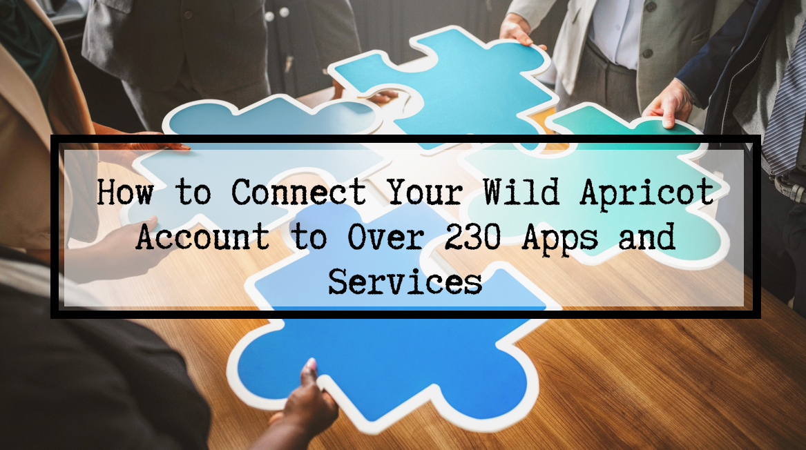 Integromat connect Wild Apricot post header