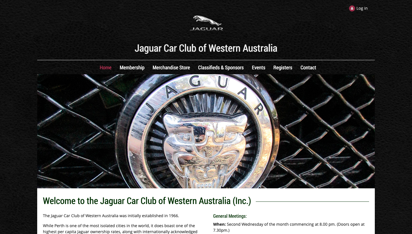 Jaguar Car Club of Western Australia