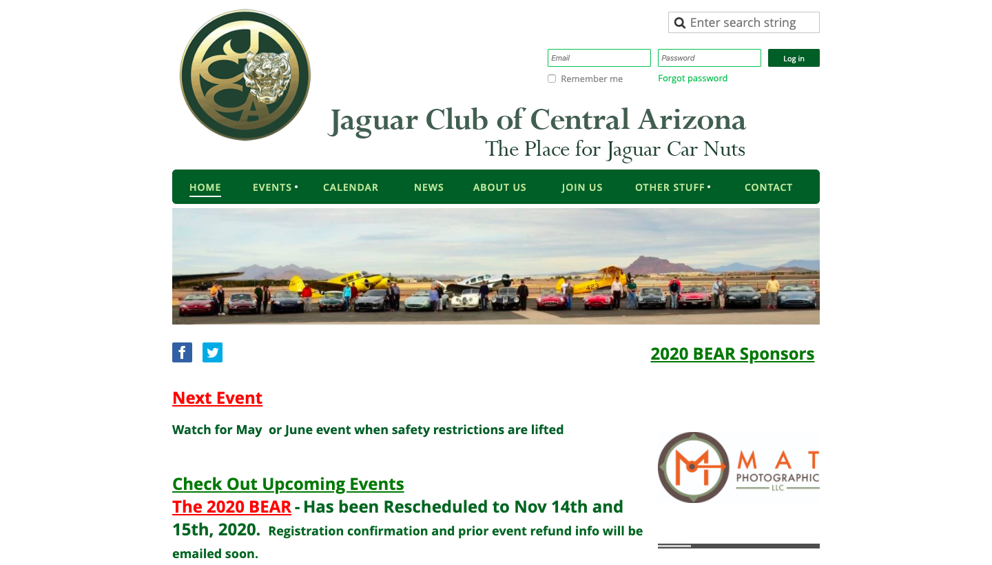 Jaguar Club of Central Arizona
