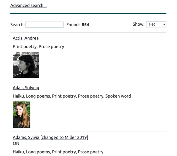 League of Canadian Poets