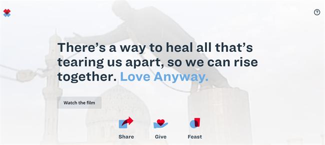 Love Anyway best nonprofit website