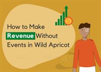 Make revenue in WildApricot