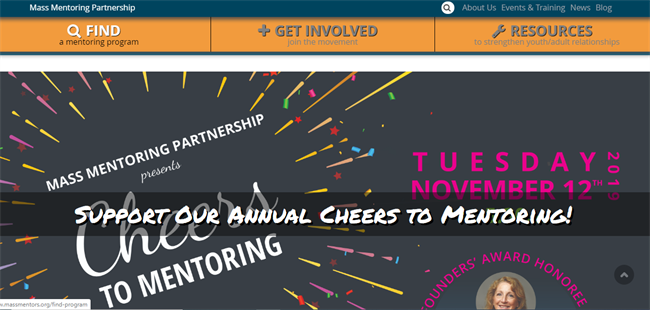 Mass Mentoring best nonprofit website