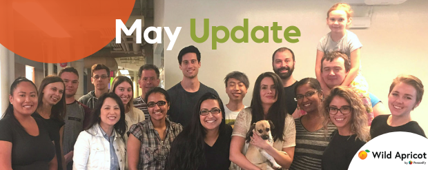 May update newsletter banner