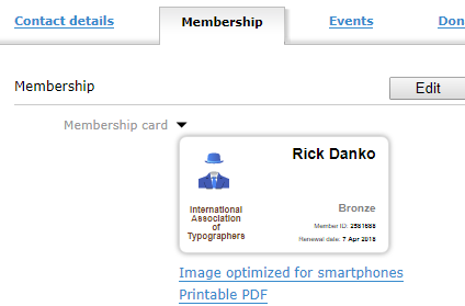 Member Card 2