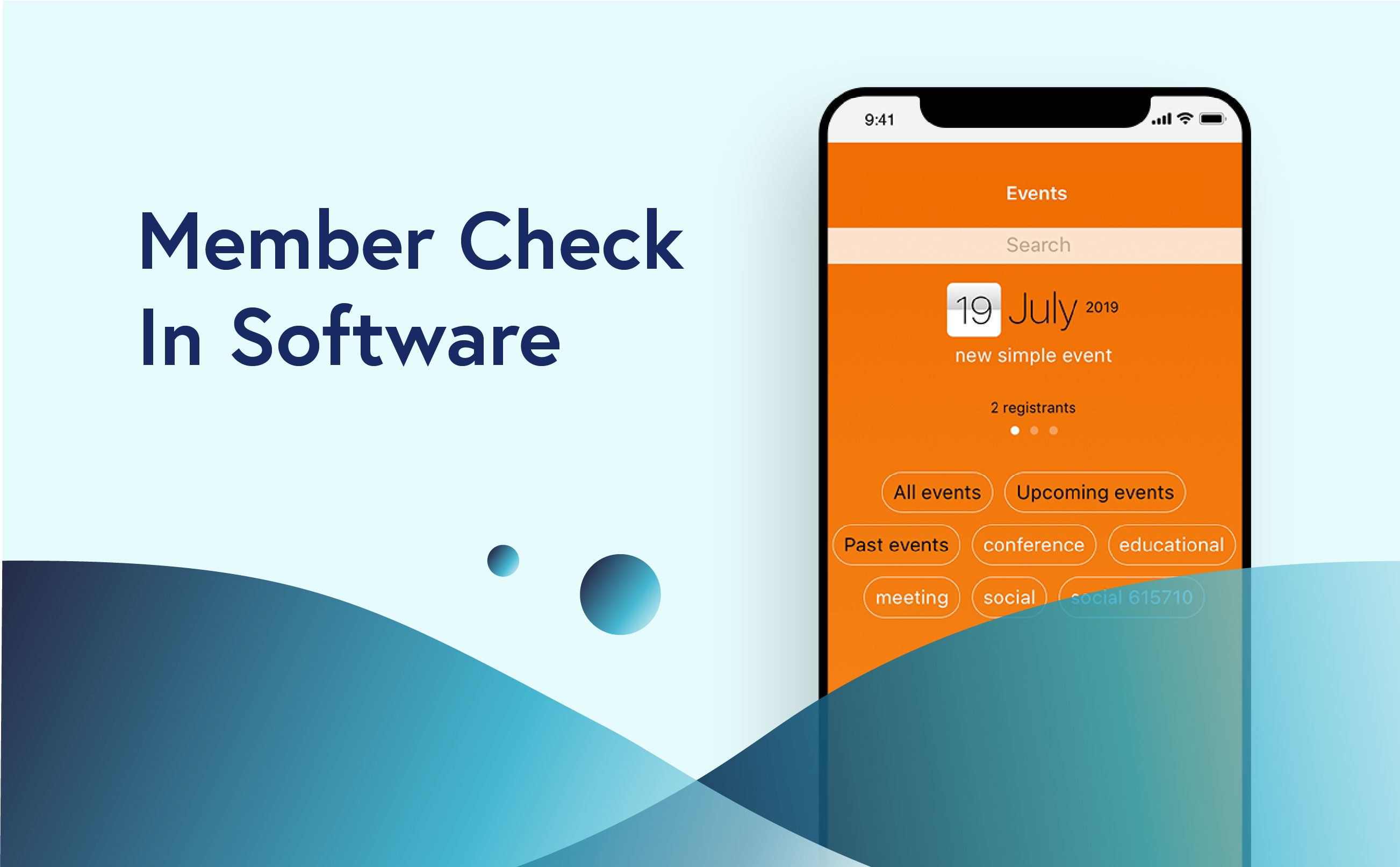 Member Check In Software