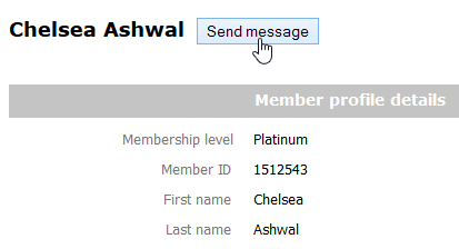 Member contact form image
