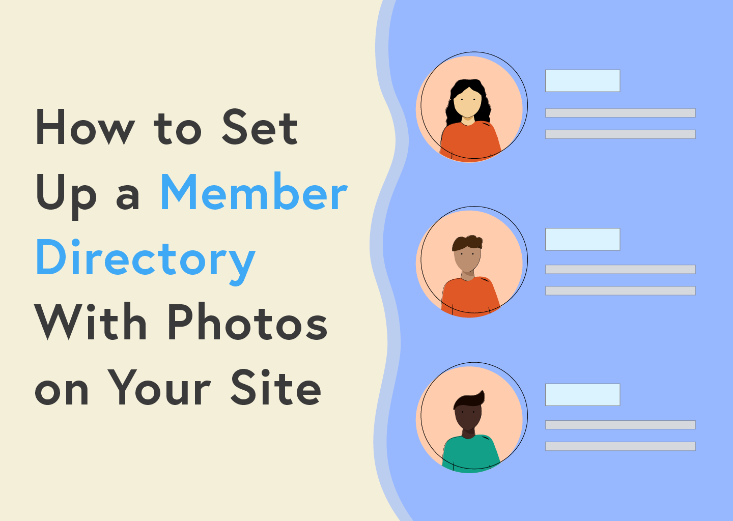member directory with photos