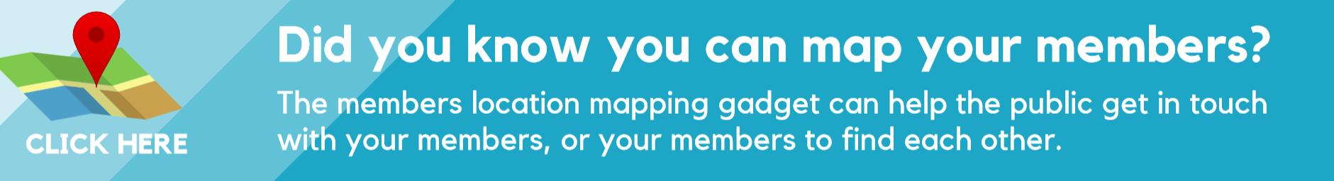 Member map banner