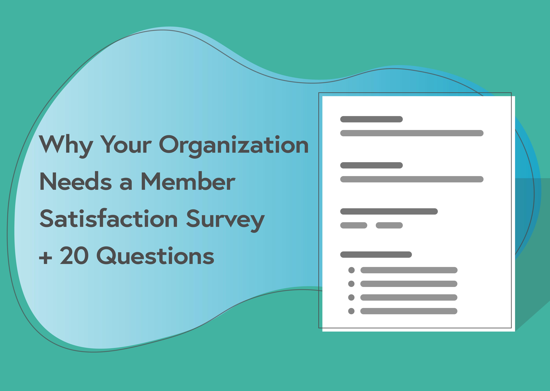 member satisfaction survey
