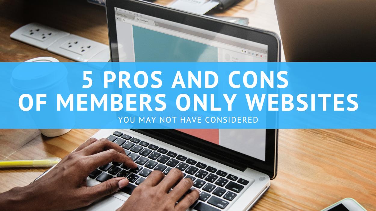 Members Only Website 3