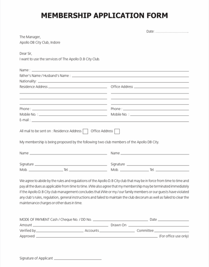 5 Expert Tips To Improve Your Membership Application Form