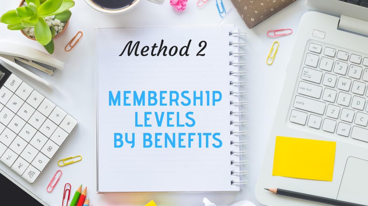 Membership Level Names