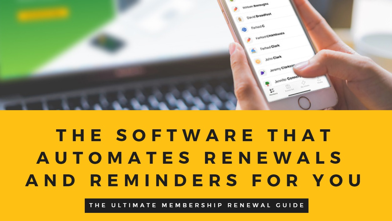 Membership Renewal Guide
