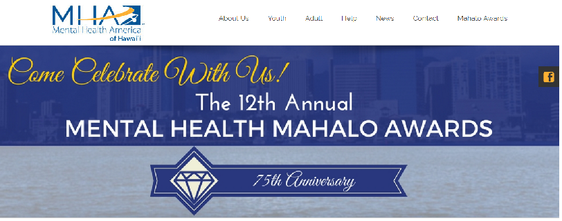 Mental Health Hawaii nonprofit website