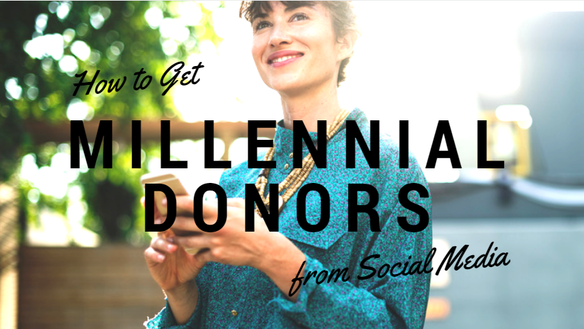 Millennial Donors From Social Media
