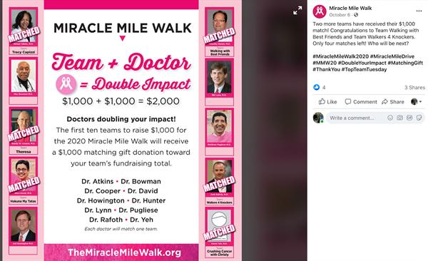 Miracle Mile Walk