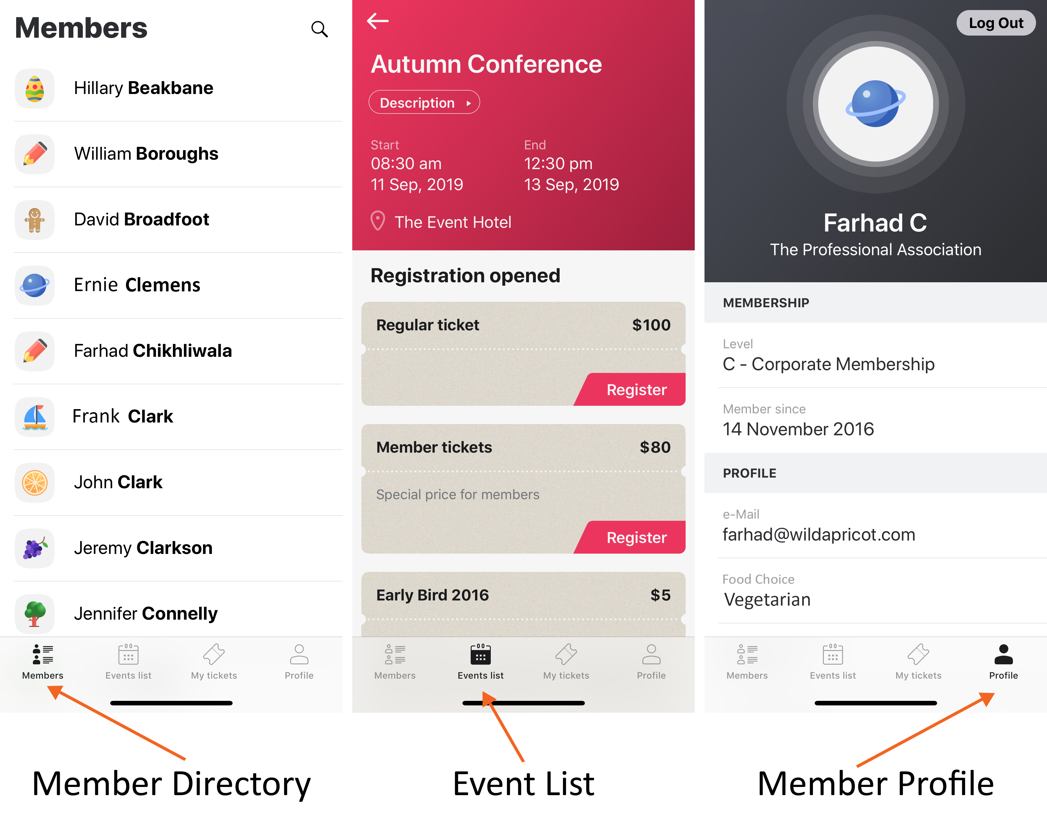 Membership App