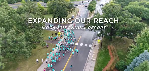 MOCA annual report cover