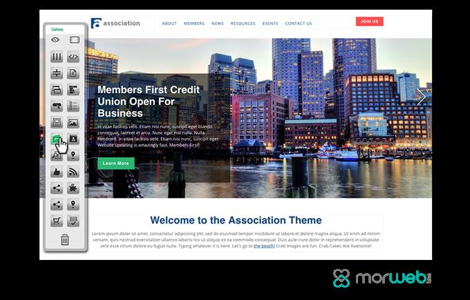 nonprofit website builder