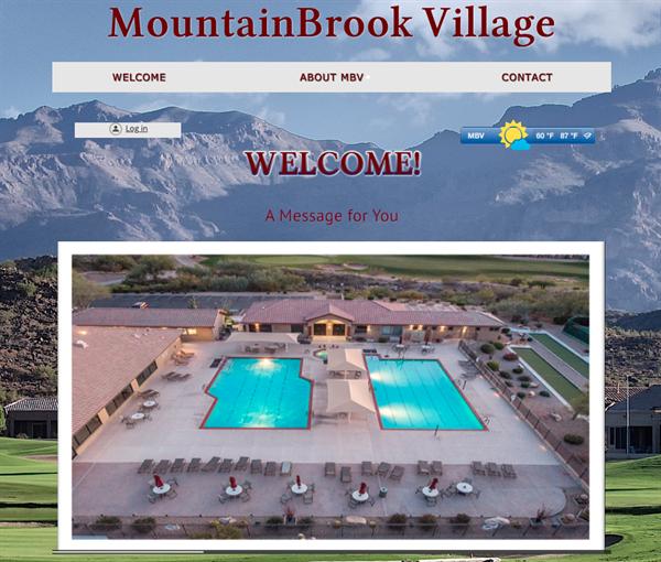 MountainBrook Village HOA website